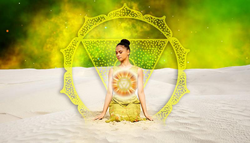 Манипура чакра третья желтая